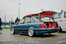 stanced rolls royce stanced audi 80 b3 cartuning best car tuning photos from all