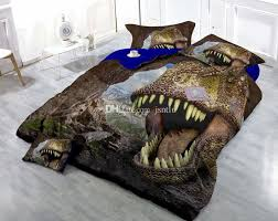 custom drawings can be customized 3d furious dinosaurs cotton