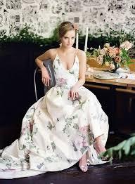 floral wedding dresses gorgeous floral wedding dresses that inspire happywedd