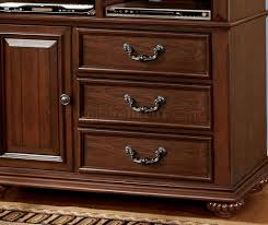 Dark Wooden Tv Stands Landaluce Tv Stand In Antique Style Dark Oak