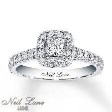neil engagement neil engagement ring 3 4 ct tw diamonds 14k white gold