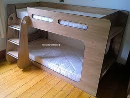 Low Height Bunk Bed Shortie Low Height Bunk Beds Sleepland Beds