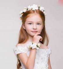 flower girl hair accessories flower headpiece wedding flower girl hair accessories floral crown