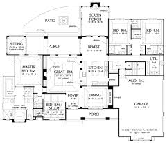 square floor plans for homes european style house plan 4 beds 4 baths 3048 sq ft plan 929 1