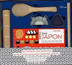 livre de cuisine japonaise coffret easy japon distribution prologue