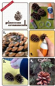 73 best pinecone crafts images on pinterest pinecone christmas