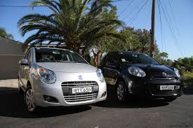 alto v nissan micra light car comparison