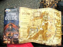 Universal Park Map Park Map Universal Studios Hollywood Throughout Wizarding World Of