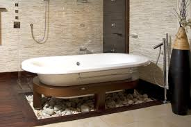 wood tile bathroom wall white pink colors wooden vanity wall