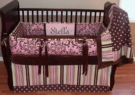 Brown And Pink Crib Bedding Pink And Brown Crib Bedding Pink And Brown Baby Bedding Sets