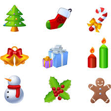 christmas design elements vector vector graphics blog