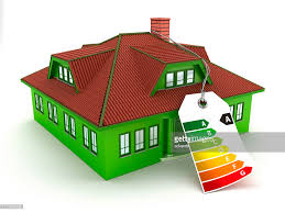 house energy efficiency energy efficient house stock photo getty images