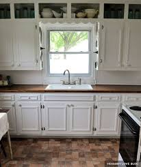 how to paint existing kitchen cabinets painting kitchen cabinets before after