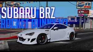 subaru brz rocket bunny gta v showcase subaru brz rocket bunny v3 youtube