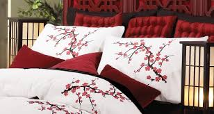 Cherry Duvet Cover Unique Red Cherry Blossom Bedding 98 For Floral Duvet Covers With