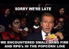 Michael Jackson Popcorn Meme - at the theatre with michael jackson brian williams misremembers
