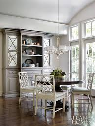 Dining Room Wall Unit The Minimalist Chic Breakfast Nook Features A Custom Wall Unit By