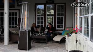 Pyramid Gas Patio Heaters by Mocha Pyramid Flame Patio Heater Video Gallery