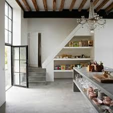 escalier entre cuisine et salon escalier entre cuisine et salon argileo