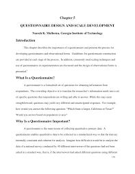 questionnaire design questionnaire design and scale development pdf available