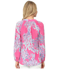 Swell Lilly Pulitzer Lilly Pulitzer Elsa Top In Purple Lyst