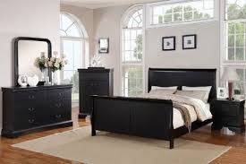 Black King Size Platform Bed Buy Louis Phillipe Black King Size Bedroom Set Featuring French