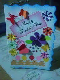 Handmade Greeting Card Designs For Teachers Day