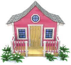 pink playhouse plan 64ft wood plan for kids u2013 paul u0027s playhouses