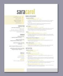 simple creative resumes love this resume white space really works even though there is a