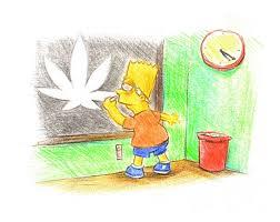 Bart Simpson Meme - bart simpson marijuana leaf meme weed memes