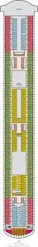 Carnival Breeze Floor Plan Carnival Vista Cabin 8466 Category 8e Balcony Stateroom 8466