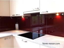 cuisine bordeaux laqué credences de cuisine en verre laque sur mesures credence en verre