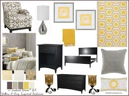 Yellow And Grey Room E Instant Rooms Fast Affordable U0026 Fresh E Decorating