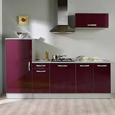 ensemble meuble cuisine root ensemble de meubles de cuisine aubergines prêt à installer