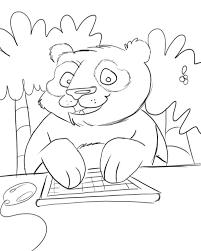 twittering pandas color kid stuff