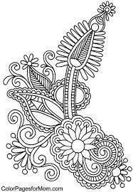 9 images paisley coloring pages printable printable