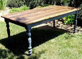 build your own outdoor table 18 diy outdoor dining room tables