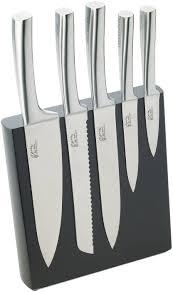 couteaux cuisine pradel jean dubost 18522 bloc météor façon wengé 5 couteaux de