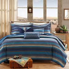 Blue Quilted Coverlet Home Essence Reyes Quilted Bedding Coverlet Set Walmart Com