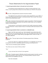 sample thesis statement for argumentative essay your thesis statement writing thesis statements sfu library thesis statement for argumentative essaythe process is usually thesis statement for
