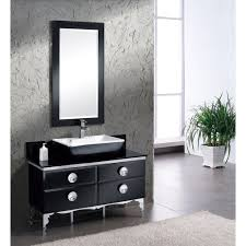fvn7714bl fresca moselle 47inch modern glass bathroom vanity with