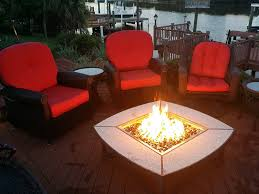 Outdoor Stone Firepits by Decorations Allen And Roth Fire Pit To Relax In The Warmth