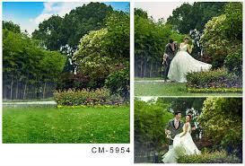 wedding vinyl backdrop 2017 5x7ft nature park garden for wedding backgrounds new