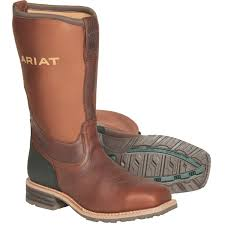 ariat s boots size 12 ariat hybrid rancher all weather steel toe work boots gempler s