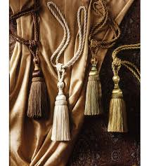 curtain tieback tassels business for curtains decoration