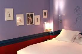 chambre bleu et mauve deco violet et gris chambre mauve et gris indogate deco chambre