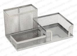 wire mesh desk organizer deluxe metal mesh desktop organizer silver office supplies dub