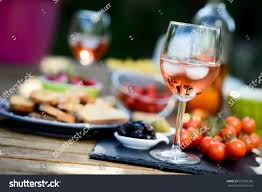 holiday summer brunch party table outdoor stock photo 651030256