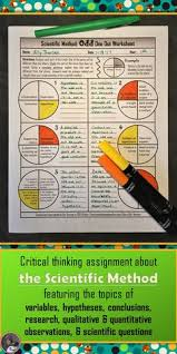 this exploring the scientific method worksheet was designed for