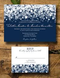 wedding invitations navy navy lights wedding invitation digital diy by nmiphotocreations id